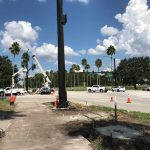 New Traffic Light at Waterside & Celebration Blvd