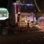 Lights on Jeater Bend